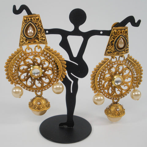 Bollywood style fancy earrings