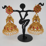 traditional south indian jhumkas