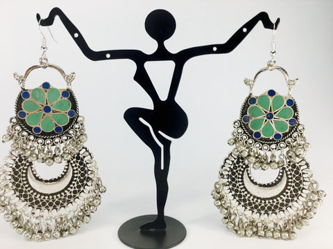 grand afghani tribal danglers