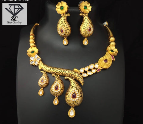 Grand Rajasthani necklace set