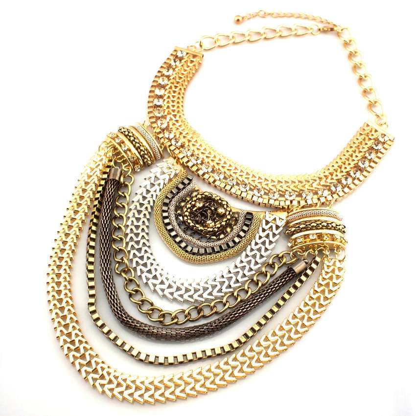 Cleopatra Statement Necklace
