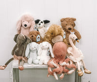 Jellycats soft toys baby and children