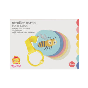 Tiger Tribe Stroller Cards - Out & About One Country Mouse Kids