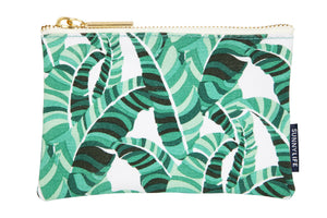 Travel Pouch Small | Banana Palm