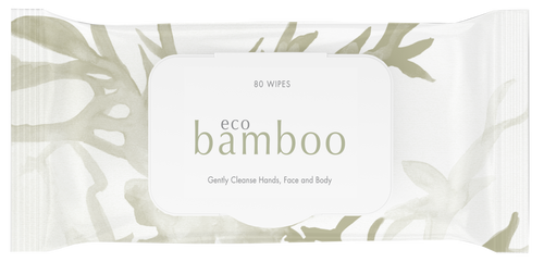 Luvme ECO Bamboo Wipes 80 PACK One Country Mouse Kids  Edit alt text