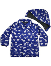 Load image into Gallery viewer, korango Rainwear Safari Colour Changing Raincoat | navy