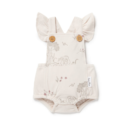 Aster & Oak Tree of Life Playsuit - Blush One Country Mouse Kids