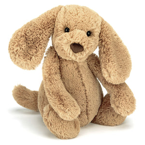 Jellycat Bashful Toffee Puppy MediumOne Country Mouse Kids, Kids Store, Yamba Kids