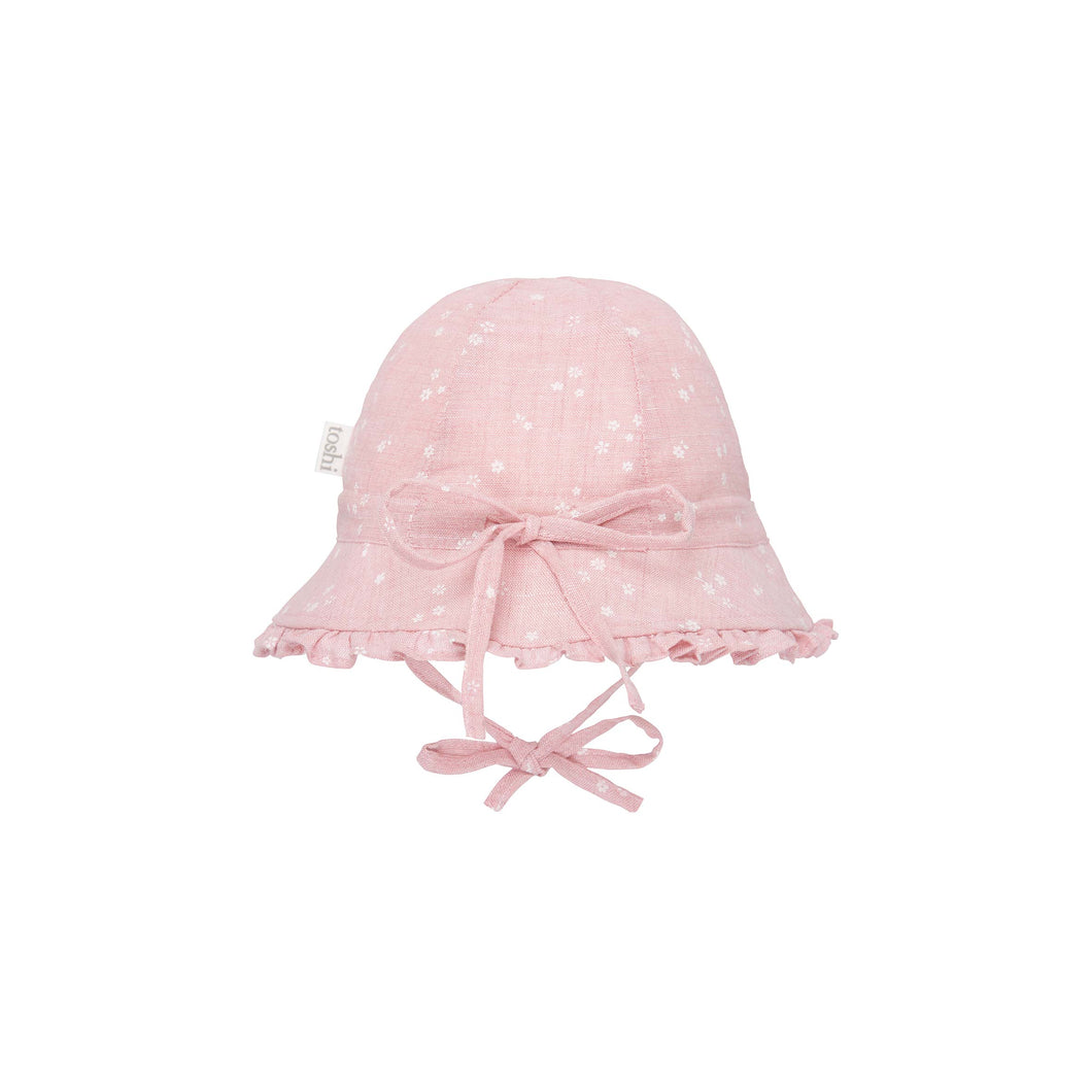 Toshi Bell Hat Milly Blush, Baby and Children's Hats and Accessories One Country Mouse Kids