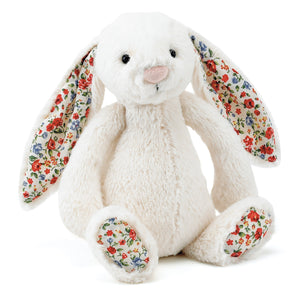 Jellycat Blossom Bashful Cream Bunny Small One Country Mouse Kids, Kids Store, Yamba Kids