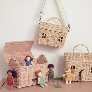 OLLIELLA Casa Clutch | Rose One Country Mouse Kids