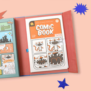 Tiger Tribe Comic Book Kit - Practice. Plan. Create. One Country Mouse Kids