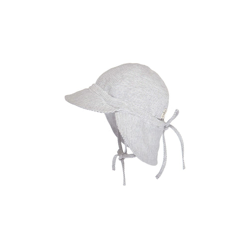 Toshi Flap Cap Baby Dove, Baby and Children's Hats and Accessories One Country Mouse Kids