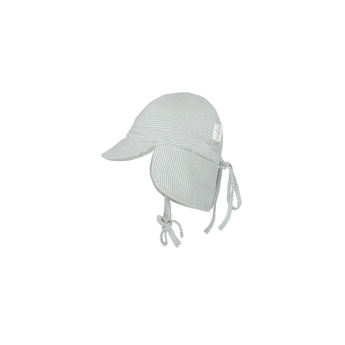 Toshi Flap Cap Baby Sage, Baby and Children's Hats and Accessories One Country Mouse Kids