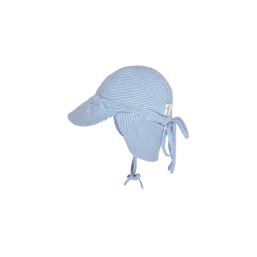 Toshi Flap Cap Baby Sky, Baby and Children's Hats and Accessories One Country Mouse Kids