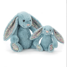 Load image into Gallery viewer, Jellycat Blossom Aqua Bunny Medium One Country Mouse Kids Yamba