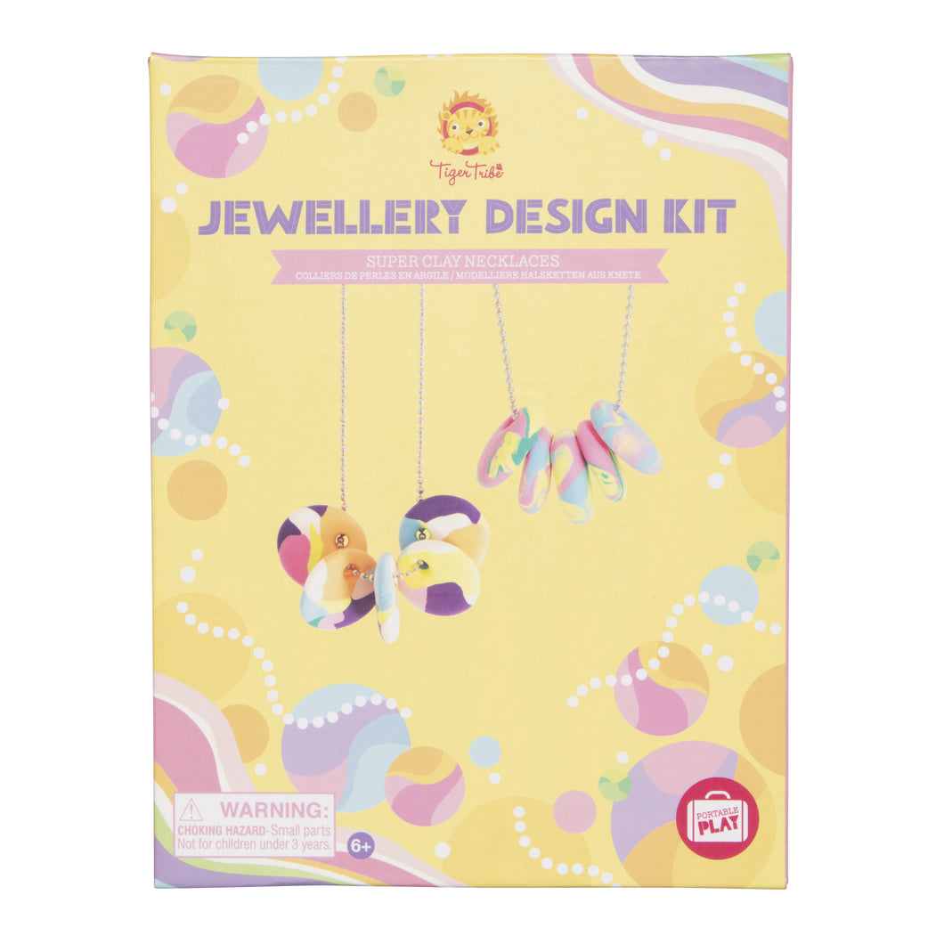 Tiger Tribe Jewellery Design Kit - Super Clay Necklaces One Country Mouse Kids