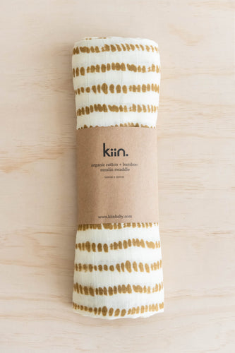 Kiin., Kiinbaby, Kiin organic cotton + bamboo muslin swaddle, One Country Mouse Kids, Yamba baby, Yamba Kids, Yamba baby shop, Yamba baby boutique