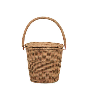 Olliella Big Apple Basket | Natural One Country Mouse Kids