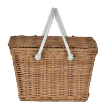 Load image into Gallery viewer, OLLIELLA Piki Basket | Natural One Country Mouse Kids