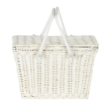 Load image into Gallery viewer, OLLIELLA Piki Basket | White One Country Mouse Kids