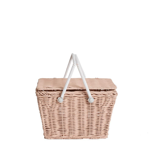 OLLIELLA Piki Basket | Rose One Country Mouse Kids