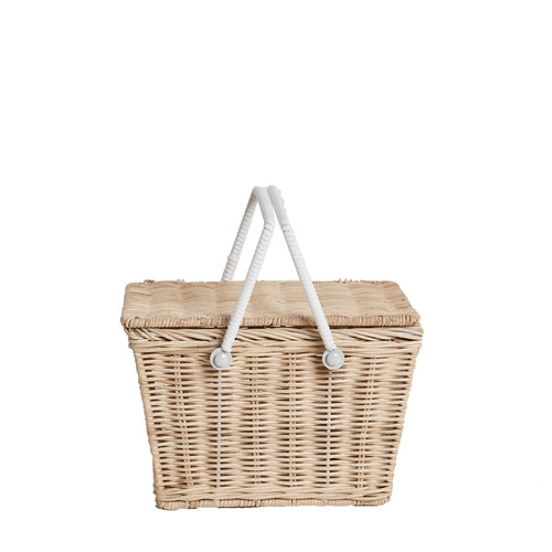 Olliella piki basket straw One Country Mouse Kids