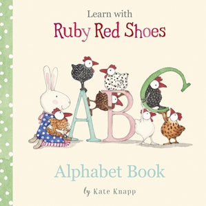 Ruby Red Shoes Alphabet Book Children's Books