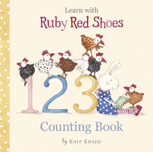 Ruby Red Shoes Counting Book Children's Books