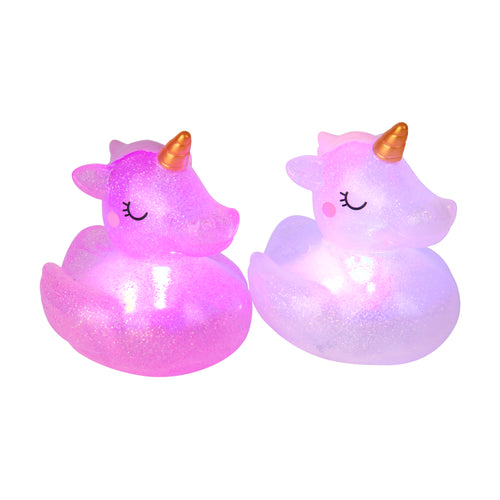 Sunnylife Australia, Sunnylife kids, Unicorn Bath Lights Set of 2, Bath time fun, bath toys, One Country Mouse Kids Yamba
