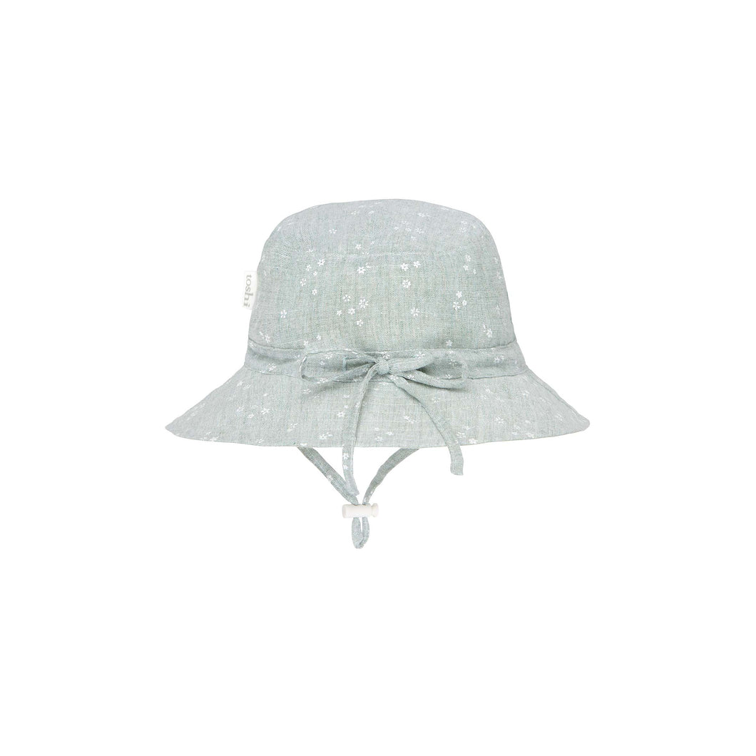 Toshi Sunhat Milly Sage, Baby and Children's Headwear/Hats and Accessories One Country Mouse Kids