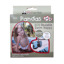 Load image into Gallery viewer, Pandas by Luvme ECO Reusable Swim Nappies One Country Mouse Kids