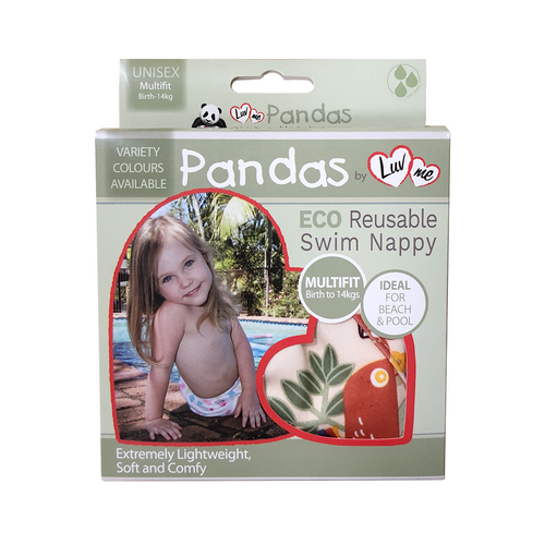 Pandas by Luvme ECO Reusable Swim Nappies One Country Mouse Kids