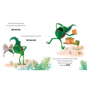 Sassi Books - Story and Picture Book - Disgusting as a Toad