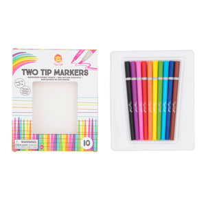 Tiger Tribe Two Tip Markers One Country Mouse Kdis