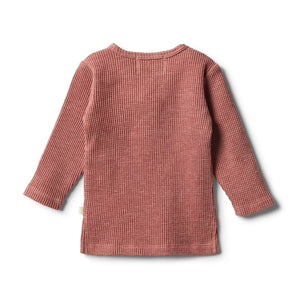 Wilson and french Clay Waffle Henley Top One Country Mouse Kids Yamba