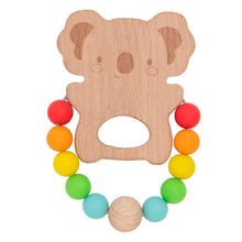 Load image into Gallery viewer, TIGER TRIBE Wooden Silicone Teether - Koala