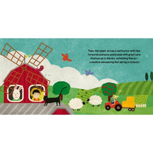 Load image into Gallery viewer, Sassi Book and Giant Puzzle - The Farm, 30 pcs