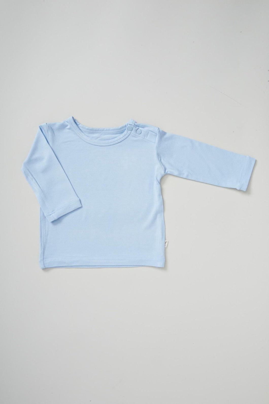 Baby Long Sleeve Top | Sky