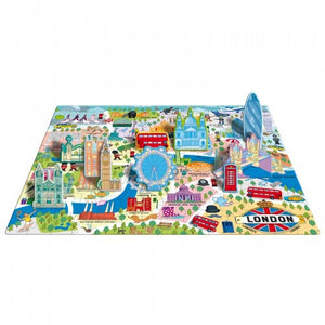 Sassi Travel, Learn and Explore - Puzzle and Book Set - London One Country Mouse Kids
