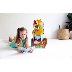 Sassi 3D Assemble, Build and Book - Noah's Ark One Country Mouse Kids