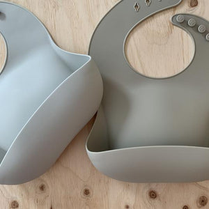 rommer co Silicone baby bib Oyster