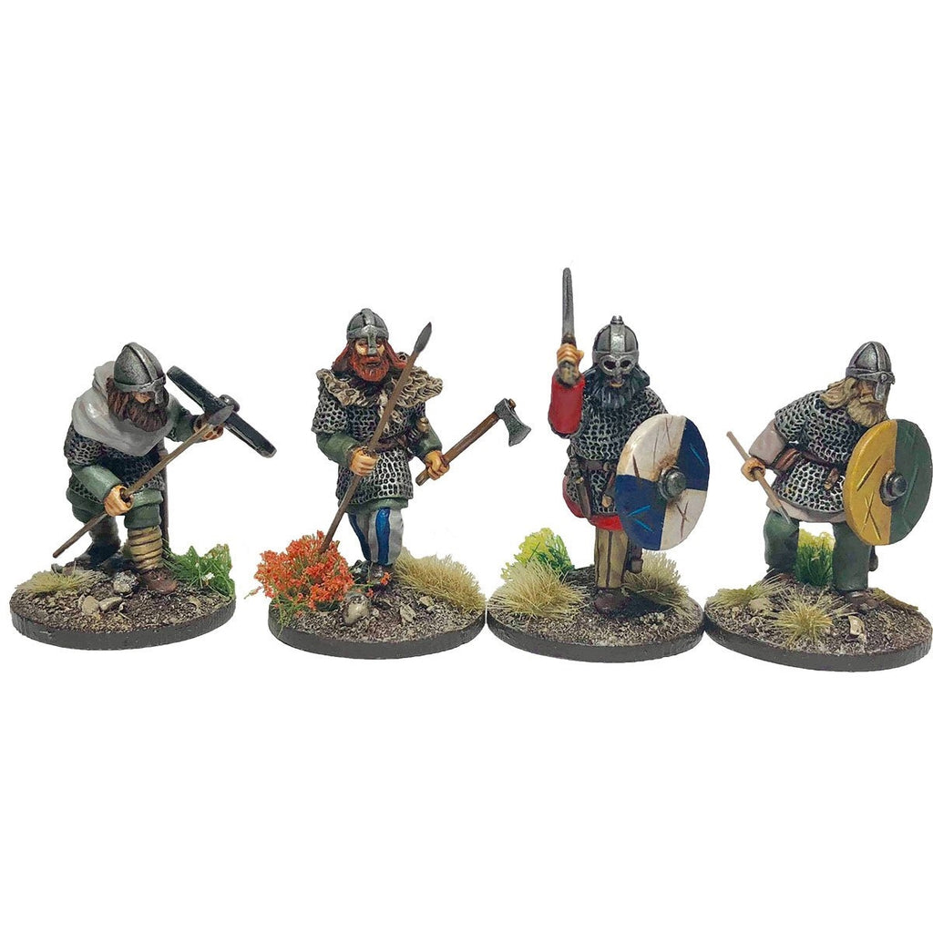 28mm Viking Hirdmen 3