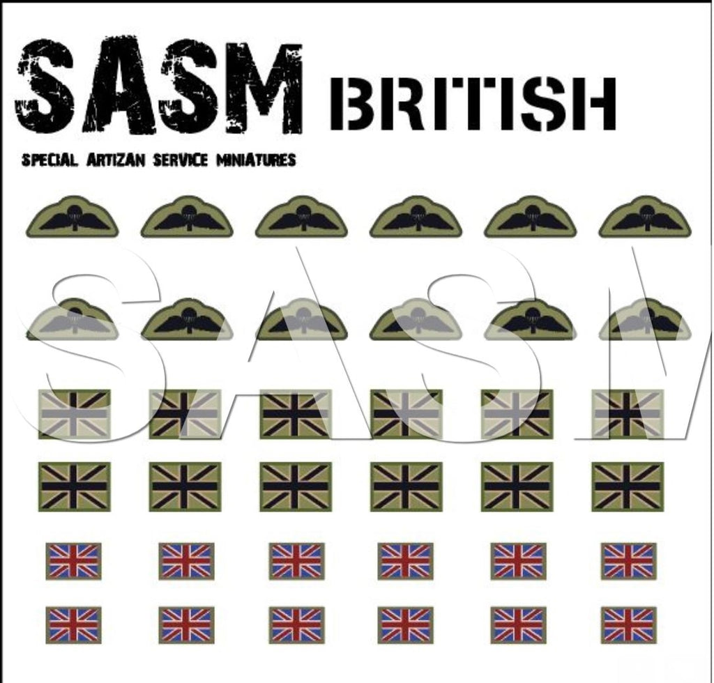 28m British Decals