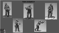 28mm Modern Team OverWatch