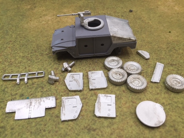 28mm Armored HMV package