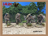 28mm German Recce Unit