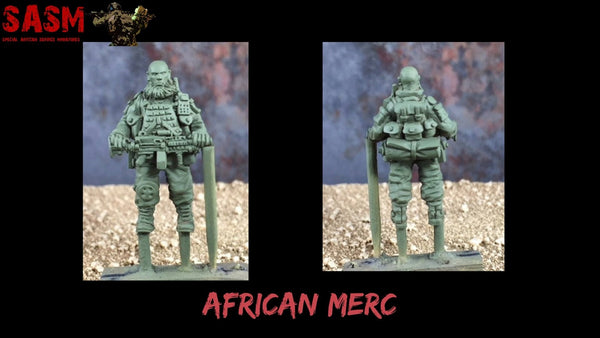 28mm Modern African Mercenary