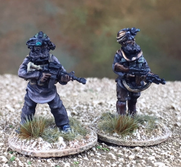 28mm Modern Isis Fighters