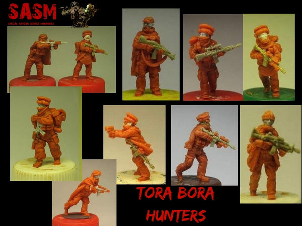 28mm Modern Tora Bora Hunters